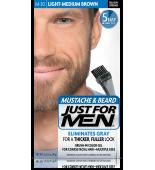 JUST FOR MEN - ZA BRKOVE I BRADU boja: Svjetlo srednje smeđe M30