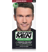 JUST FOR MEN - ŠAMPON U BOJI KOSE boja: srednje smeđa H35